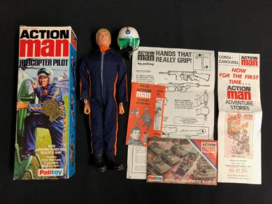 ACTION MAN - HELICOPTER PILOT - Boxed nice Condition.